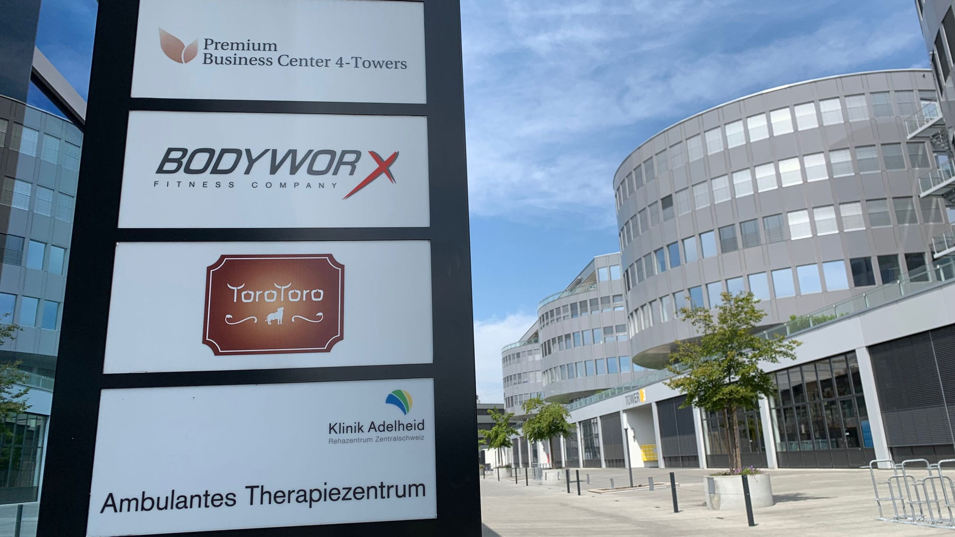 Outdoor Impressionen @ 4-Towers | BodyWorx Steinhausen