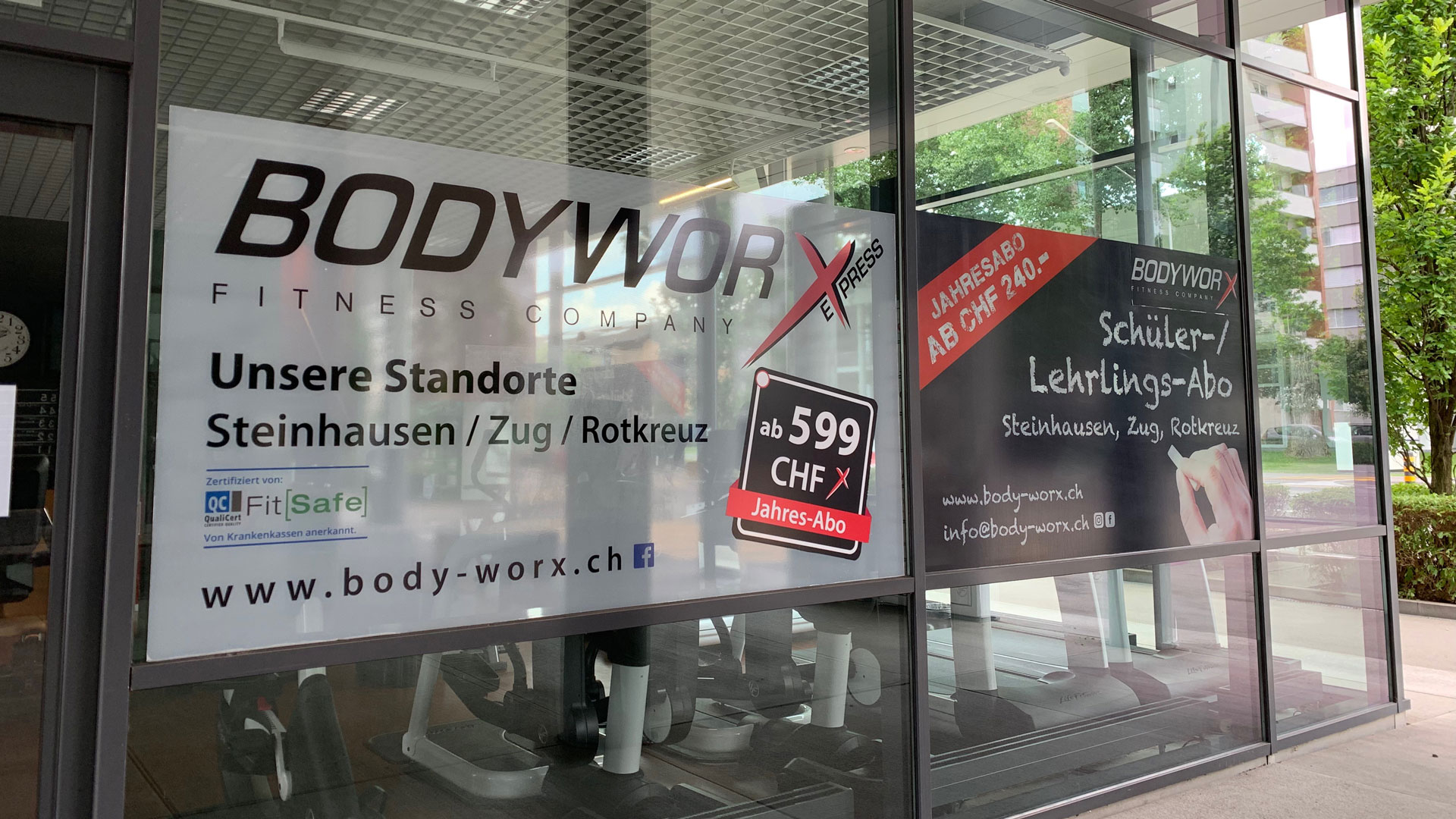 Outdoor BodyWorx Express | Westside
