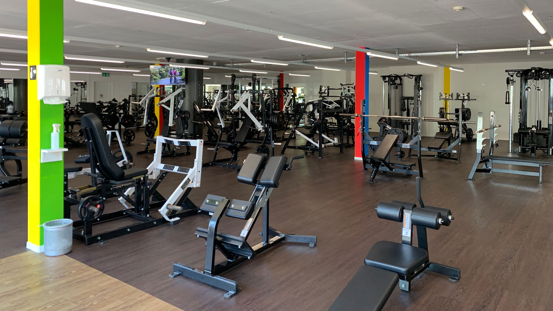 HammerStrength @ 4-Towers | BodyWorx Fitnesscenter Steinhausen