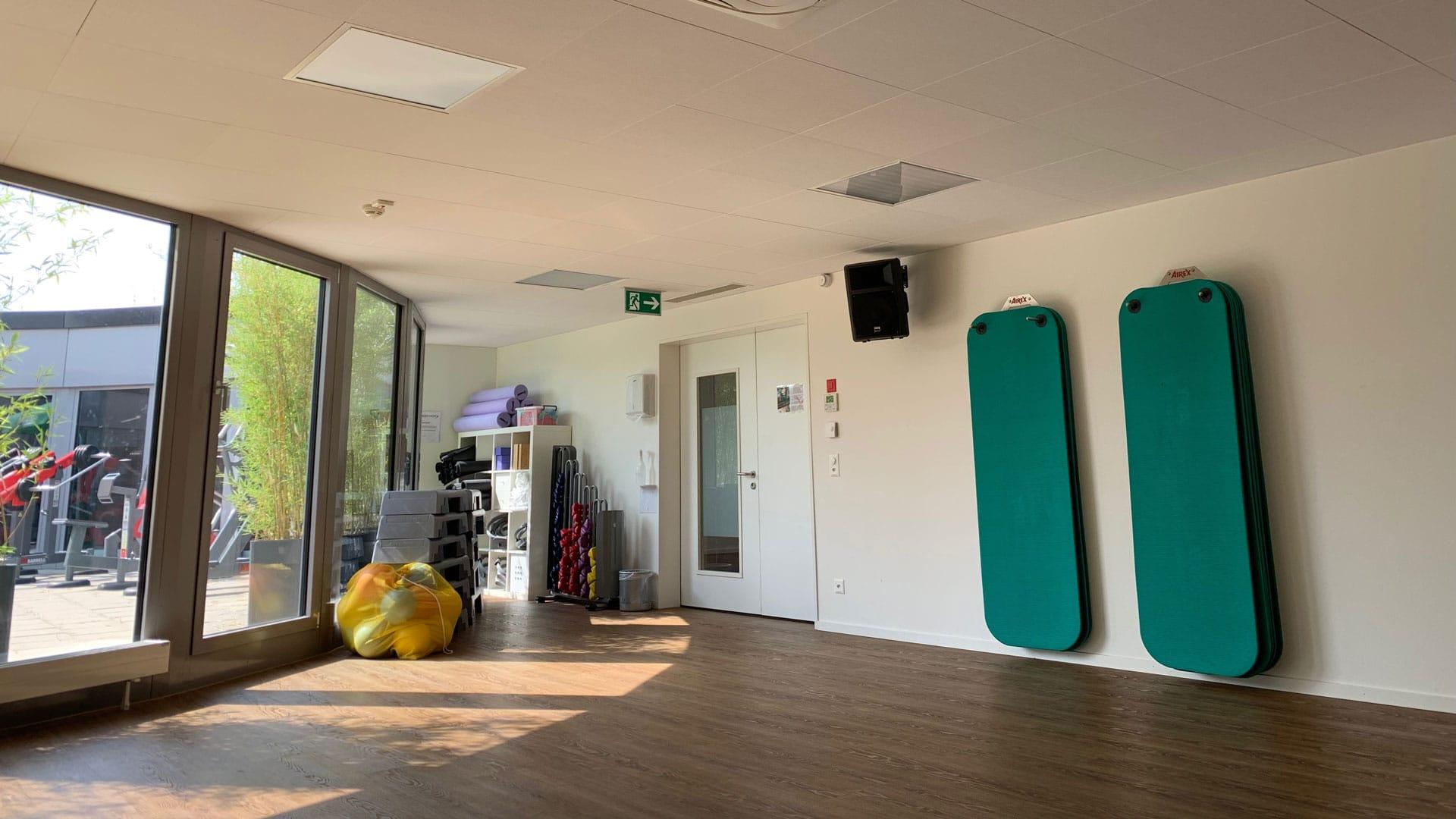 Kursraum Obergeschoss @ 4-Towers | BodyWorx Steinhausen